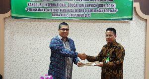Kerjasama dengan Kantor Balai Diklat Keagamaan Provinsi Aceh